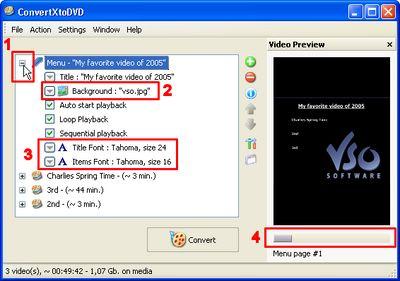 by step guide make DVD menu and add menu to DVD